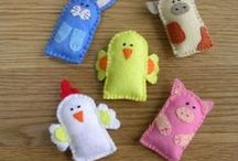 Sewing crafts for kids / Kids can make it