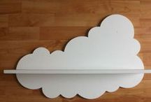 clouds / Created by nature, clouds are inspiration to my imagination. Clouds used in common place items.