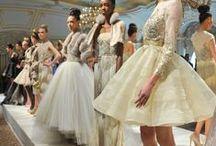 Petticoat Haute Couture Fashion / Petticoats and crinolines in high fashion