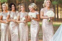 Bridesmaids / Bridesmaid dresses and vintage bridesmaid petticoat style