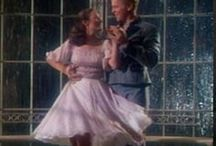 Theatre and Film Costumes / Theatre and film costumes with petticoats and crinolines