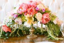 Pretty Flowers & Bouquets / Flowers, florals, bouquets, centerpieces, beauty