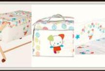 Colección Divertida / Ropa de cuna y mincuna para tu bebé, con todo los accesorios y completos necesarios en divertidos y tiernos colores.