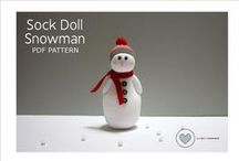 Do you want to build a snowman? / I have such a soft spot for Snowmen.  Regardless of the medium they are CUTE!!