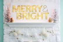 Christmas & Winter / Christmas, winter, winter holidays, holiday decor, DIY and idea