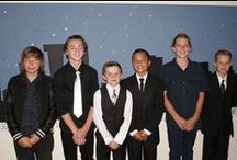 Year 8 dinner 2014 / After an amazing year the year 8's finished off with a James Bond theme for their dinner.