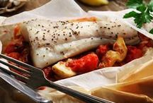 Healthy Lent Recipes / Healthy, low carb and diabetic-friendly fish recipes for Lent using cod, halibut, salmon, tilapia, trout and more.