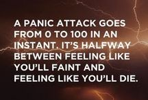 Anxiety & Panic Attacks / by Michelle Lundy