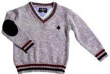 Jerseys de Punto para #Niños / Jerseys de punto, en lana de algodón, lana acrilica ...etc con cuello alto, pico ...etc para #niños