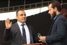 Posesión de León Mario Bedoya López como alcalde de #Itagüí