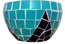 Mosaicos / Mosaicos feitos pelos artesãos do Brasil