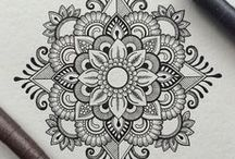 Decorative elements / Decorative elements, ornaments, doodles, hand drawn collection