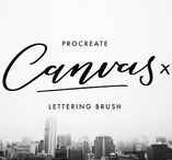 Brushes / Brushes for iPad ProCreate, Photoshop and illustrator