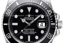 Rolex / Rolex, personally I love the GMT series and Submariner most. Especially a 1967 model, my year of birth :-) / by Berry Clemens