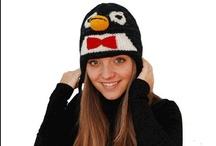 Cappelli a forma di animali / 30 differenti modelli di cappelli animali in lana by AddonecapShop! Per adulti e bambini
