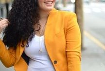 Plus size women's Jackets / Women's jackets we like. Perfect to match with a 46inpoi plus size shirt!
