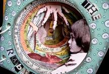 art: mixed media / mixed media, altered books, collages, art journals / by Mara Michelle