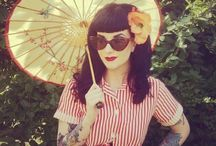 retro beauty / pinup/rockabilly/vintage hair & makeup / by Mara Michelle