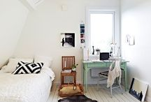 home: bedroom inspiration / by Mara Michelle
