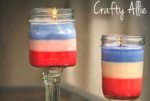 Patriotic, / Add anything red, white, and blue for Memorial Day, Independence Day, Labor Day or Veteran's Day