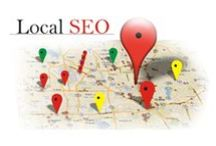 SEO for Local Business / When you own a small local business, you don't want to just get any website traffic, you want local visitors! How do you use content and SEO to do that? We'll pin those tips here.