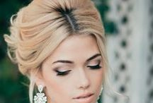Engagement makeup and hairstyles
