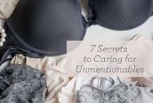 Lingerie tips / by Maison Close