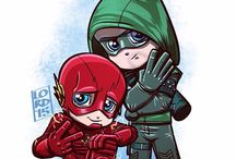 Flash and arrow /  FLASH! AHHHHHHAHHHH! idk what to put for Arrow LOL! / by Nerdy Miri