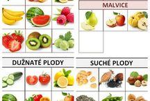 Prvouka - ovoce a zelenina