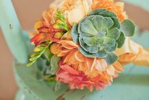 Flowers / Roses are Red, Violets are Blue...and then there are hundreds of other flowers, colors, fillers and variations to choose from. From budget friendly to G-L-A-M-O-R-O-U-S. Check out some local Florists and some inspirations for your Big Day!