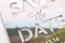 Invitations/Save The Dates / First Impressions Last Forever! Make sure your guests know exactly what to expect at your wedding with the style of your Stationary!