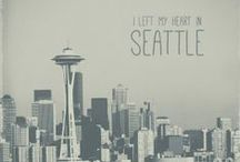 Seattle Love / The most beautiful city in the world. I miss living there so much!