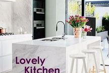 Lovely Kitchen / The best food comes from well-loved kitchens. Find beautiful kitchen design trends and decoration inspiration on this board.