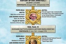 RCP Papas / Papal pins / by margaret cannon