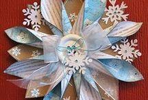 Christmas et al decorations / Paper & sen decorations / by margaret cannon