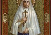 RCP saints Female / Female Saints / by margaret cannon