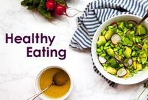 Healthy Eating / Eating well is easy when your meals are this delicious. Find a mix of healthy snacks, plant-based recipes, and fresh takes on classic ideas on this board.