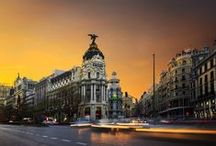 MADRID / Madrid combines the glamour of Paris, the worldliness of New York, the edginess of Chicago, and the quirky intensity of L.A. into a dazzling, ceaselessly booming whole. / by josé m. larrad