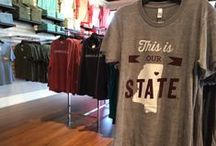 jcg apparel starkville / samples of merchandise in our starkville, mississippi retail location. contact us at starkville@jcgapparel.com for information on any of these shirts.