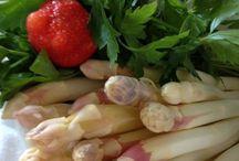SPARGEL - königliches Gemüse! / Tradition unserer Muttererde: von Mai bis Juni mein ständiger Begleiter...