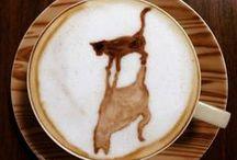 cafeïna! / L'art de cafè. El cafè perfuma la casa, canta cada mati, arrossega converses, acarona l' anima, la vista i també el paladar.