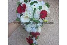 Soldes Bouquet de la Mariée septembre 2014 / Réductions sur un lot de bouquet de mariage http://bouquet-de-la-mariee.com/22-solde-bouquets-mariage-fleurs  bouquet de la mariée, décoration voiture, bracelet de fleurs