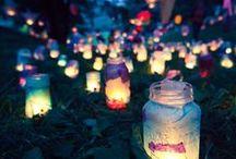 Inspiration / Inspirational pics for light festival for example.