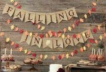Fall Wedding Love