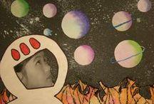 Kosmické... / tvoření do ŠD, projekty, nápady