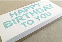 Birthday Wishes / Celebrate birthdays with Idea Chic Style #HappyBirthday #BirthdayGreetings #BirthdayCard