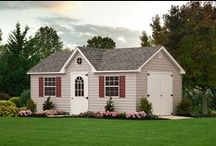 Vinyl Sheds / See the beautiful selection of Vinyl storage sheds offered by Liberty Storage Solutions. Visit the website at: http://www.libertystoragesolutions.com