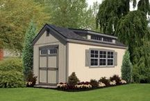 Painted Sheds / See the selection of Painted Sheds offered by Liberty Storage Solutions. You can visit the website at: http://www.libertystoragesolutions.com for more information.