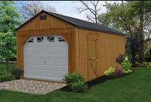 Metal & Treated Wood Sheds / The treated wood and metal sheds from Liberty Storage Solutions are perfect for storing yard equipment and for general storage needs. Find out more at www.LibertyStorageSolutions.com