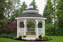 Gazebos / What better way to enjoy your outdoor space than with a lovely Gazebo? Learn more about the Gazebos we provide at www.LibertyStorageSolutions.com